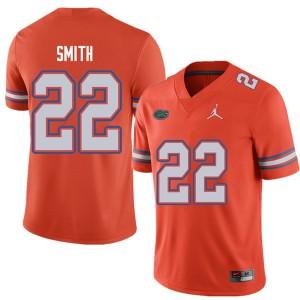 Jordan Brand Men #22 Emmitt Smith Florida Gators College Football Jerseys Orange 890538-349