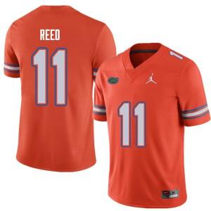 Jordan Brand Men #11 Jordan Reed Florida Gators College Football Jerseys Orange 769186-189
