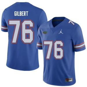 Jordan Brand Men #76 Marcus Gilbert Florida Gators College Football Jerseys Royal 675252-297