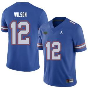 Jordan Brand Men #12 Quincy Wilson Florida Gators College Football Jerseys Royal 278516-575