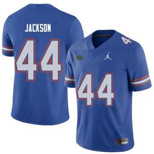 Jordan Brand Men #44 Rayshad Jackson Florida Gators College Football Jerseys Royal 456661-516