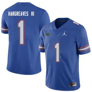Jordan Brand Men #1 Vernon Hargreaves III Florida Gators College Football Jerseys Royal 550600-780