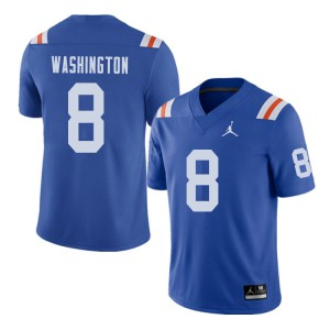 Jordan Brand Men #8 Nick Washington Florida Gators Throwback Alternate College Football Jerseys 521072-695