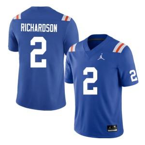 Men #2 Anthony Richardson Florida Gators College Football Jerseys Throwback 951558-258