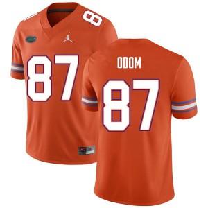 Men #87 Jonathan Odom Florida Gators College Football Jerseys Orange 845558-639