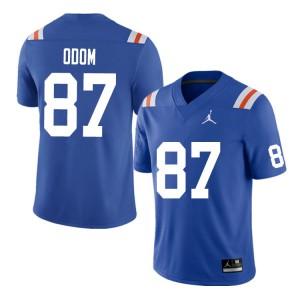 Men #87 Jonathan Odom Florida Gators College Football Jerseys Throwback 339051-683