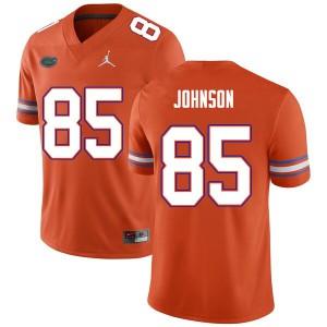 Men #85 Kevin Johnson Florida Gators College Football Jerseys Orange 572719-172
