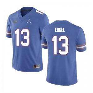 Men #13 Kyle Engel Florida Gators College Football Jerseys Blue 486589-269