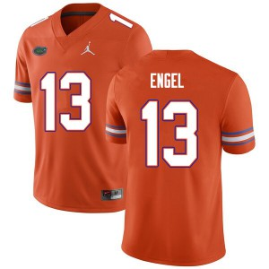 Men #13 Kyle Engel Florida Gators College Football Jerseys Orange 615482-187