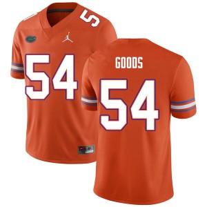Men #54 Lamar Goods Florida Gators College Football Jerseys Orange 818336-755