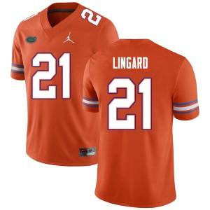 Men #21 Lorenzo Lingard Florida Gators College Football Jerseys Orange 843925-136