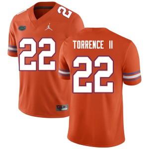 Men #22 Rashad Torrence II Florida Gators College Football Jerseys Orange 424345-662