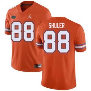 Jordan Brand Men #88 Adam Shuler Florida Gators College Football Jerseys Orange 690413-259