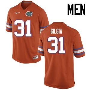 Men Florida Gators #31 Anthony Gigla College Football Jerseys Orange 768124-928