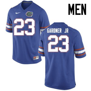 Men Florida Gators #23 Chauncey Gardner Jr. College Football Jerseys Blue 279477-591