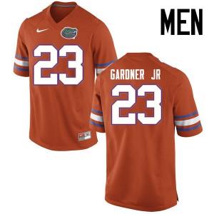 Men Florida Gators #23 Chauncey Gardner Jr. College Football Jerseys Orange 949272-520