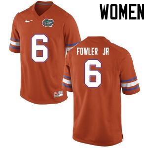 Women Florida Gators #6 Dante Fowler Jr. College Football Jerseys Orange 172487-688