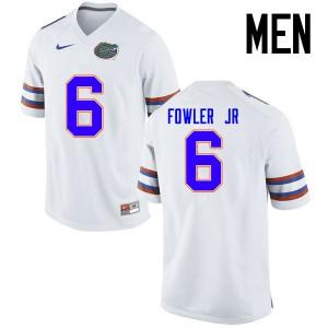 Men Florida Gators #6 Dante Fowler Jr. College Football Jerseys White 349140-787