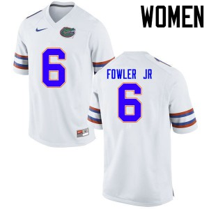 Women Florida Gators #6 Dante Fowler Jr. College Football Jerseys White 321545-325