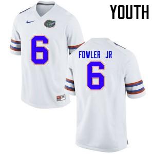 Youth Florida Gators #6 Dante Fowler Jr. College Football Jerseys White 509789-403