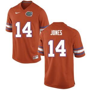 Men #14 Emory Jones Florida Gators College Football Jerseys Orange 823629-692