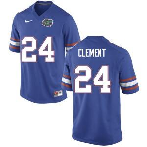Men #24 Iverson Clement Florida Gators College Football Jerseys Blue 831756-438