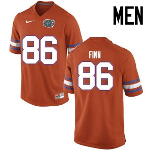 Men Florida Gators #86 Jacob Finn College Football Jerseys Orange 159822-310
