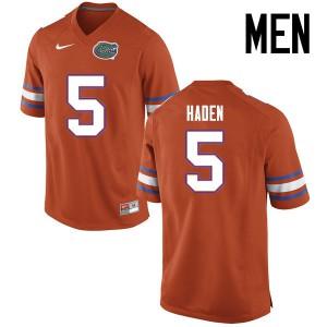 Men Florida Gators #5 Joe Haden College Football Jerseys Orange 336823-953