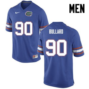 Men Florida Gators #90 Jonathan Bullard College Football Blue 768079-960
