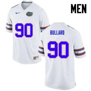 Men Florida Gators #90 Jonathan Bullard College Football White 280345-794