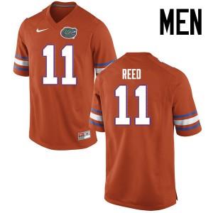 Men Florida Gators #11 Jordan Reed College Football Jerseys Orange 293442-305