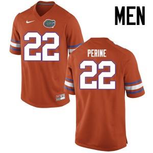 Men Florida Gators #22 Lamical Perine College Football Jerseys Orange 956386-611