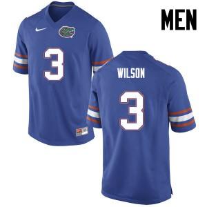 Men Florida Gators #3 Marco Wilson College Football Blue 565780-828
