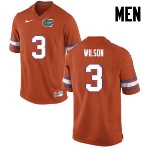 Men Florida Gators #3 Marco Wilson College Football Orange 552826-656