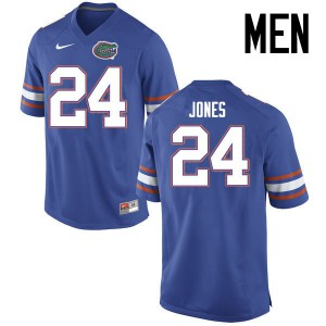 Men Florida Gators #24 Matt Jones College Football Jerseys Blue 948207-446