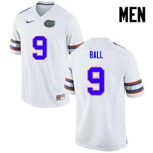 Men Florida Gators #11 Neiron Ball College Football White 688211-480
