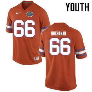Youth Florida Gators #66 Nick Buchanan College Football Jerseys Orange 425221-155