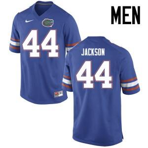 Men Florida Gators #44 Rayshad Jackson College Football Jerseys Blue 548737-582