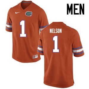 Men Florida Gators #1 Reggie Nelson College Football Jerseys Orange 646805-695