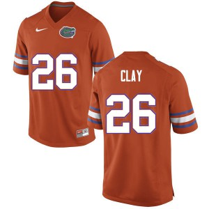 Men #26 Robert Clay Florida Gators College Football Jerseys Orange 739326-732