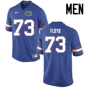 Men Florida Gators #73 Sharrif Floyd College Football Jerseys Blue 863475-185