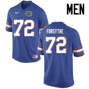 Men Florida Gators #72 Stone Forsythe College Football Jerseys Blue 202677-269