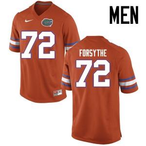 Men Florida Gators #72 Stone Forsythe College Football Jerseys Orange 578656-233