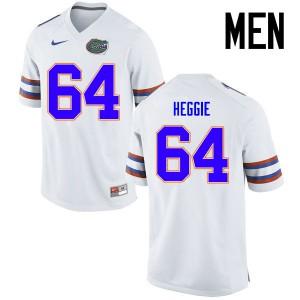 Men Florida Gators #64 Tyler Jordan College Football Jerseys White 828008-407