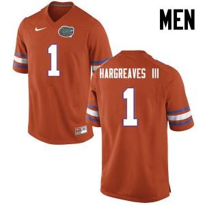 Men Florida Gators #1 Vernon Hargreaves III College Football Orange 642169-811
