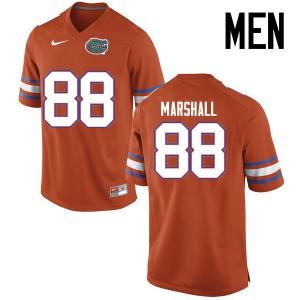 Men Florida Gators #88 Wilber Marshall College Football Jerseys Orange 135695-835