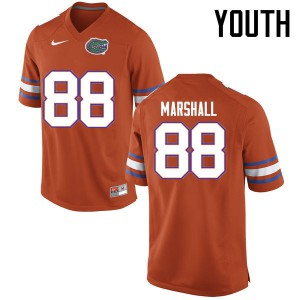 Youth Florida Gators #88 Wilber Marshall College Football Jerseys Orange 619351-781