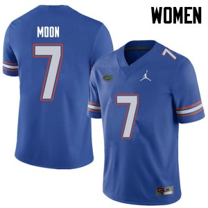 Jordan Brand Women #7 Jeremiah Moon Florida Gators College Football Jerseys Royal 719425-817