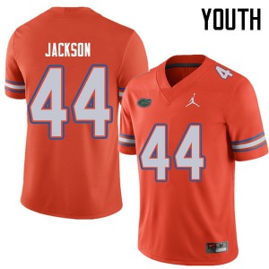Jordan Brand Youth #44 Rayshad Jackson Florida Gators College Football Jerseys Orange 373065-507