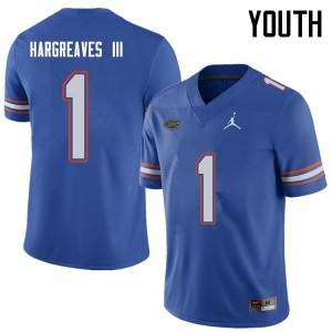 Jordan Brand Youth #1 Vernon Hargreaves III Florida Gators College Football Jerseys Royal 956651-778